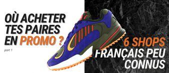 Où acheter des paires de baskets en promotion ?
